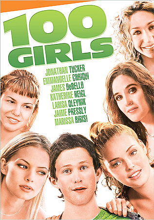 100 GIRLS BY TUCKER,JONATHAN (DVD)